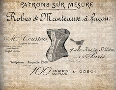 Antique+Corset+French+France+Paris+Ad+by+AntiqueGraphique+on+Etsy,+$1.00