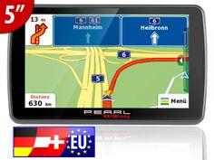 """Pearl Navigationssystem - VX-50 Easy mit Europa wurde mit """"sehr gut"""" ausgezeichnet: http://j.mp/testnet-VX-50-easy"""