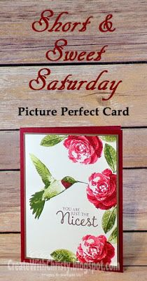 Short & Sweet Saturday - Picture Perfect