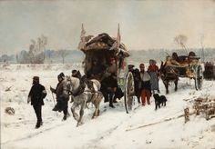 Convoy of the Wounded, Franco-Prussian War