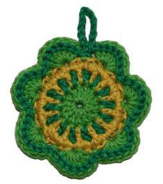 mini mandala free crochet pattern