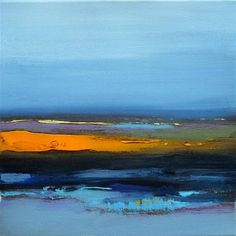 "Daily+Paintworks+-+""Landscape+302""+-+Original+Fine+Art+for+Sale+-+©+Ewa+Kunicka"