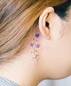 "Paarse ""lavendel"" bloempjes"