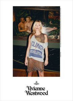 Vivienne Westwood Gold Label Spring 2013- Kate Moss photographed by Juergen Teller.