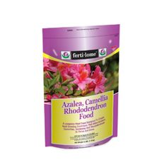 Contains a balanced plant food plus vital trace elements to create an acid growing condition that allows azaleas, camellias and gardenias to thrive and grow. Azalea, Camellia, Rhododendron Food contains a balanced plant food plus vital trace elements to create an acid growing condition that allows azaleas, camellias and gardenias to thrive and grow.  Azalea, Camellia, Rhododendron Food 9-15-13 by Rustica House. #myRustica