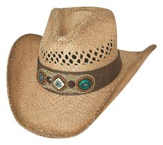 So Far Away Straw Cowgirl Hat