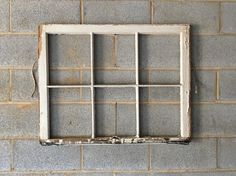 Hey, I found this really awesome Etsy listing at https://www.etsy.com/listing/232248234/no-glass-vintage-6-pane-window-frame