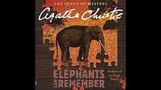 Agatha Christie, Elephants Can Remember, Famous Detectives, Miss Marple, Hercule Poirot, Hercules, Cover Art, Audio Books, My Books