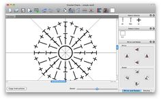 Stitch Works Crochet Charts Software. Demo available for Mac & PC. I'm going to give it a try.