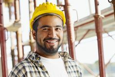 Portrait Of Hispanic Construction Worker In Building Site by diego_cervo. portrait of latin american construction worker, looking at camera College Stress, College Hacks, Underwater Welding, Becoming A Pilot, Online Courses With Certificates, Choosing A Career, Best Online Courses, Certificate Of Completion, Construction Worker