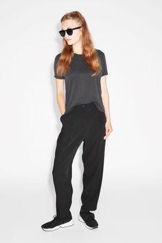 Monki Image 2 of Dressy trousers  in Black