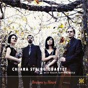 "Review of ""Brahms By Heart,"" with the Chiara String Quartet on an Azica Records CD."