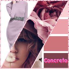 Pink dress...Concreto