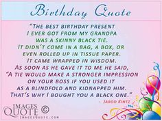 happy birthday quotes for a grandfather