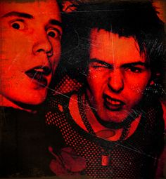 Johnny Rotten- Sid Vicious