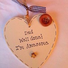 #dad#daddy#gift#personalised#wooden...£5