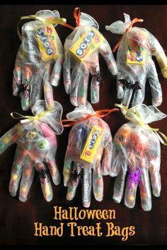 Cute idea for Halloween goody bags