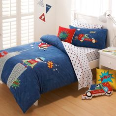 Adairs Kids Boys Super Hero Quilt Covers & Coverlets www.adairs.com.au/adairs-kids/bedroom/quilt-covers-&-coverlets/adairs-kids-boys/super-hero/