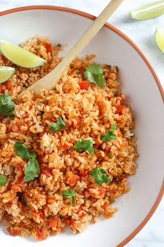 Quick Mexican Brown Rice         |          Skinnytaste