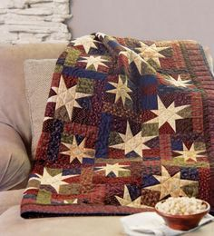 Shimmer:  two different stard create the effect of twinkling stars.  $5.99 to buy pattern