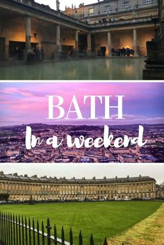 Come explore this beautiful English city, featuring the only natural hot spring in the UK, and other best things to do!