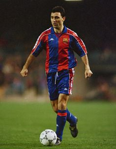 "Hristo Stoichkov is the most famous Bulgarian football player. He was part of the National Football team of Bulgaria. He played at FC Barcelona and received the nickname ""El Pistolero"" which means ""the gunslinger""."