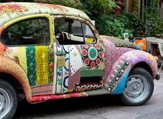 Classic - vintage Volkswagon bug - upcycled?