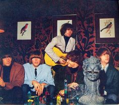 The Byrds in a groovy room