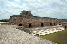 Uxmal Nunnery Quadrangle Maya Merida Mexico
