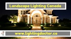 Whether you have just bought your first new home, or you want to give your current outdoor space a makeover, #landscape_lighting should be number one on your shopping list. This is a great way to visually upgrade your yard and also provide some potentially much-needed light on a pathway or driveway.  #landscapelightingcanada #lightingdoctor #canada #calgary www.lightingdoctor.ca/ Landscape Lighting, Number One, Pathways, Calgary, New Homes, Canada, Yard, Mansions, Space