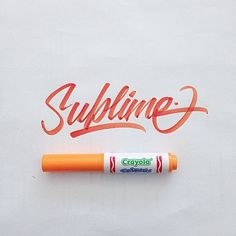 A Collection of Brushpen Lettering by David Milan