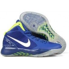 Nike zoom hyperdunk blake griffin mens blue/white/green shoes