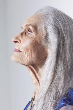 Daphne Selfe, age 85. Model - classic funky. Fabulous Fashionistas - meet the ladies
