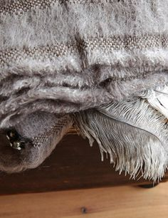 Abode Living - Blankets and Throws - Savannah Feather Throws - Abode Living Savannah Chat, Blankets, Feather, Blanket, Feathers, Rug, Fur