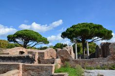 Ruine nearby Rome