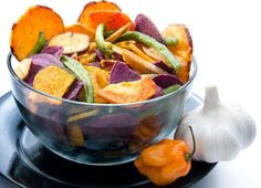 Υγιεινές και νόστιμες εναλλακτικές λύσεις για πατατάκια!  Γλυτώστε βάρος με υγιεινά εναλλακτικά σνακ!