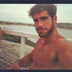 Brazilian actor Marcos Pitombo. Yummm... brazilian boys...