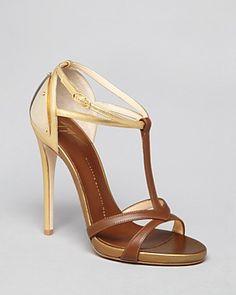 Giuseppe Zanotti Open Toe Platform Sandals - Alien T Strap High Heel | Bloomingdale's