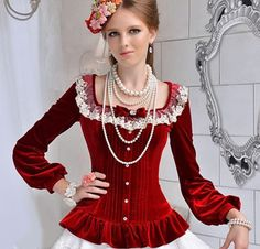 Image result for victorian blouse