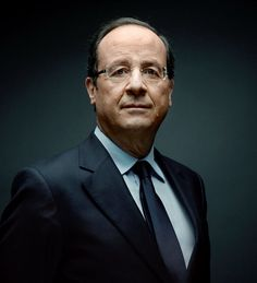 François Hollande ~ President of France | photographed by Denis Rouvre De Rouen à l'Elysée !