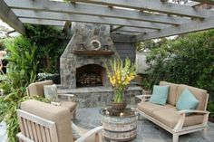 Love the whole braai patio setup