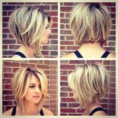Neueste Short Bob Haircut - Frauen Frisur für kurzes Haar