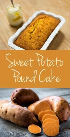 Michelle Bernstein's Sweet Potato Pound Cake – the only way to get your beta-carotene's in!