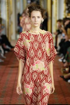 """Simone Rochas: She introduced some new silhouettes which I think will resonate well with women who are less comfortable with volume."""""""