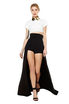 Nasty Gal Goes Old-School, Moves Back To eBay # 1980s Thierry Mugler Couture Hot Shorts