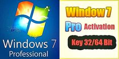 Windows 7 Professional Product Key for Bit Types Of Buttons, Old Computers, Windows Operating Systems, Open Window, Key, Activities, Blog, Unique Key, Blogging