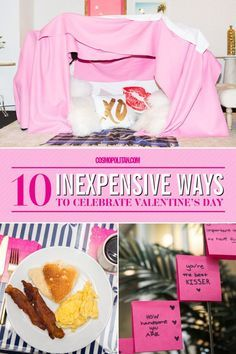 VALENTINE'S DAY GIFT IDEAS: There's no need to break the bank to show your love these fun and basically free or cheap ideas to show your boyfriend, girlfriend, or friends some love this Valentine's Day. Click through for 10 fun ways to celebrate Valentine's Day.