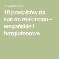 10 przepisów na sos do makaronu – wegańskie i bezglutenowe