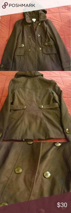 Selling this Pea Coat on Poshmark! My username is: dsmammana77. #shopmycloset #poshmark #fashion #shopping #style #forsale #Jackets & Blazers