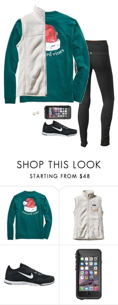 """ever since i left the city"" by serenag123 ❤ liked on Polyvore featuring lululemon, Patagonia, NIKE, LifeProof and Honora"